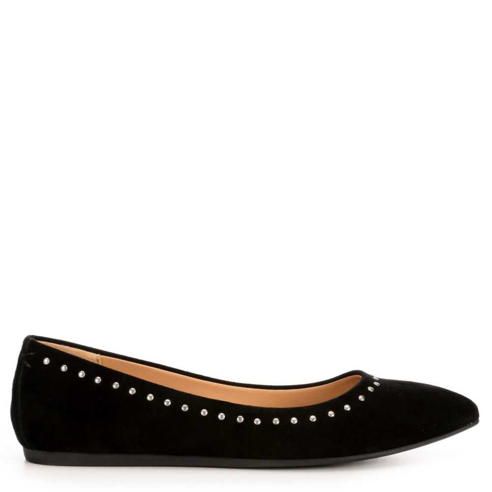 Michael By Shannon Womens Berkley Flats Shoes Black USA - GOOFASH - Womens FLAT SHOES