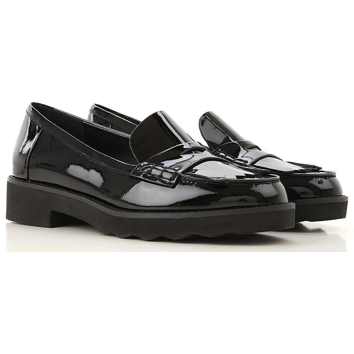 Michael Kors Loafers for Women Black - GOOFASH
