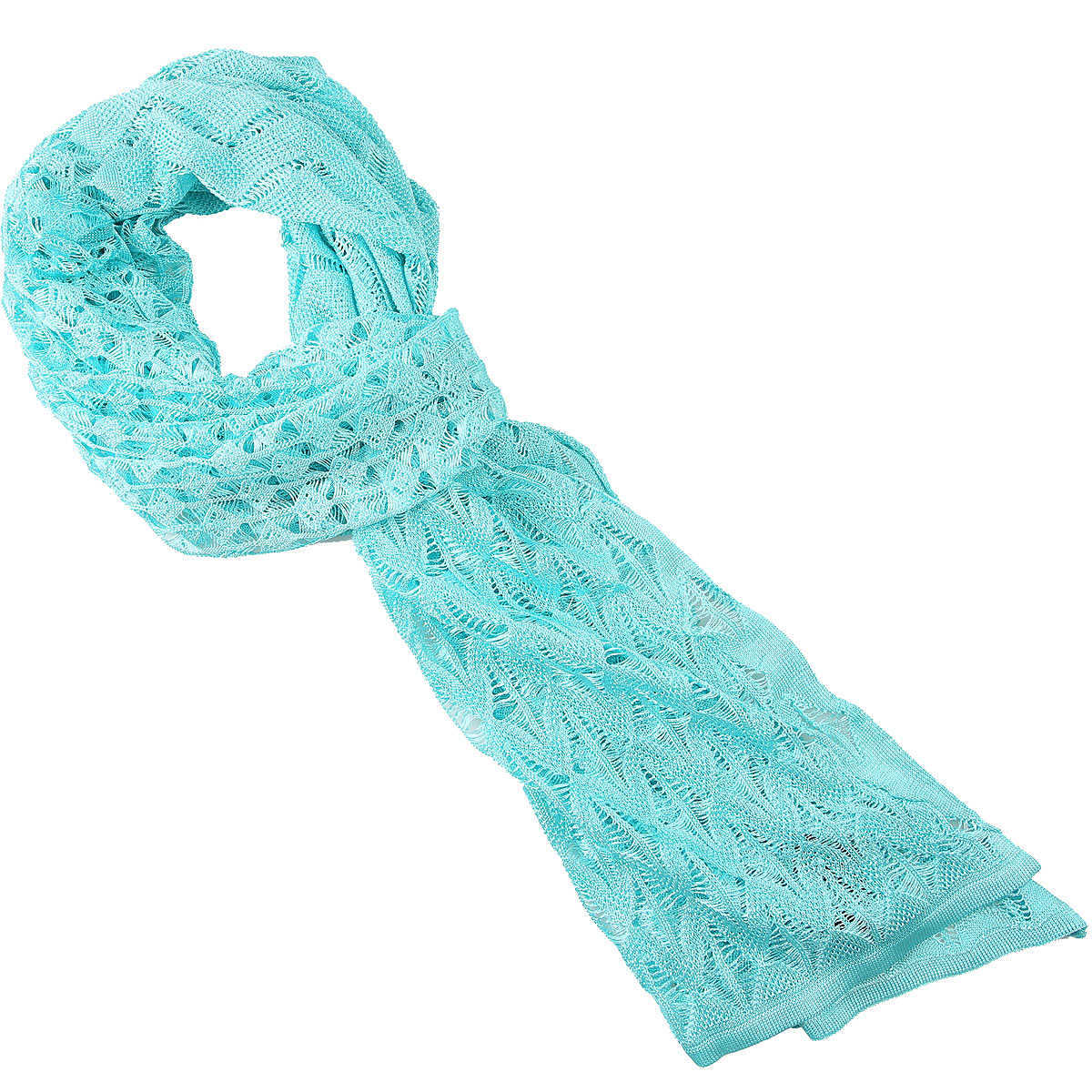 Missoni Scarf for Women On Sale Water Blue - GOOFASH