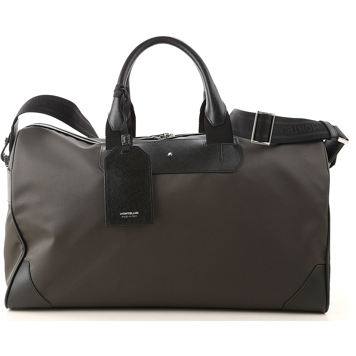 Mont Blanc Weekender Duffel Bag for Men Black UK - GOOFASH