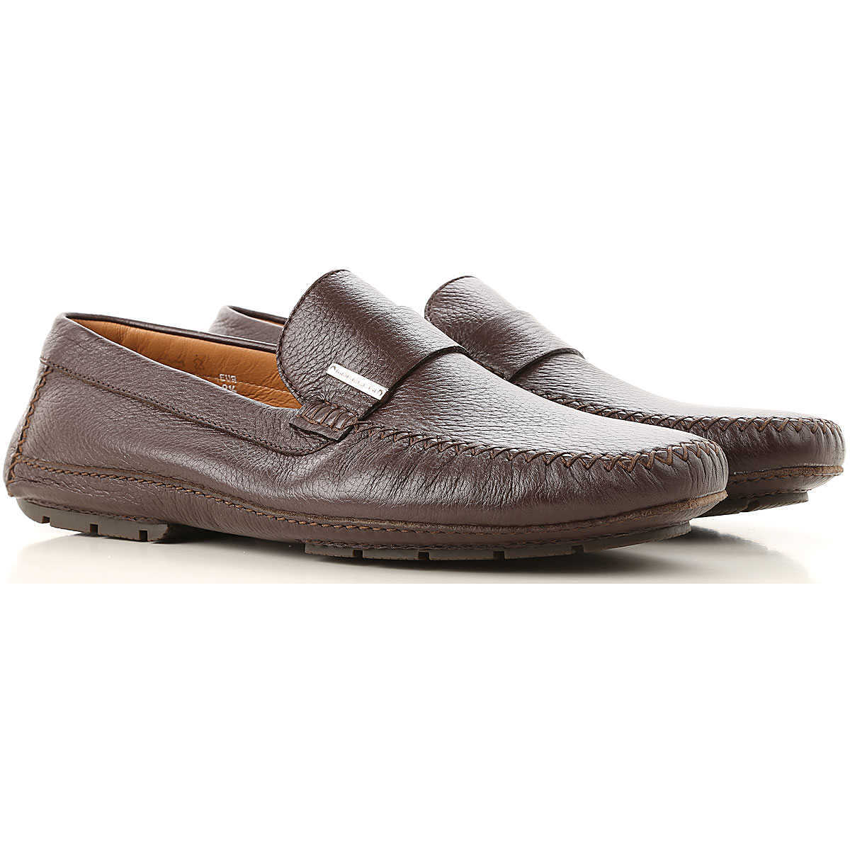 Moreschi Loafers for Men On Sale Brown - GOOFASH