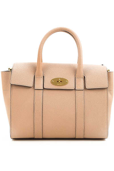 Mulberry Top Handle Handbag On Sale Antique Rose - GOOFASH