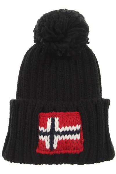 Napapijri Hat for Women On Sale Black - GOOFASH