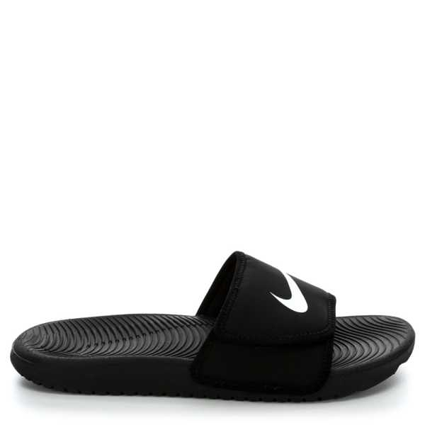 Nike Boys Kawa Sandal Black USA - GOOFASH - Mens SANDALS