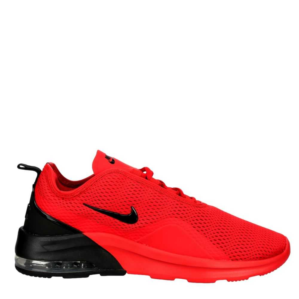 Nike Mens Air Max Motion 2 Shoes Sneakers Red USA - GOOFASH - Mens SNEAKER