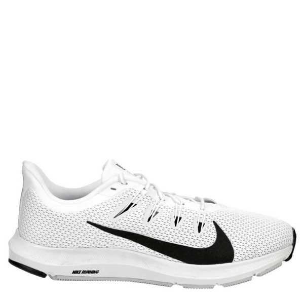 Nike Mens Running Quest 2 Running Shoes Sneakers White USA - GOOFASH - Mens SNEAKER