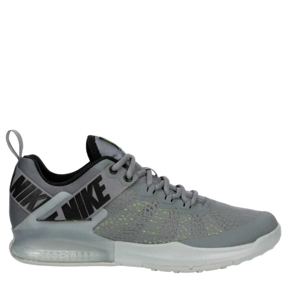 Nike Mens Zoom Domination Training Shoes Sneakers Grey USA - GOOFASH - Mens SNEAKER