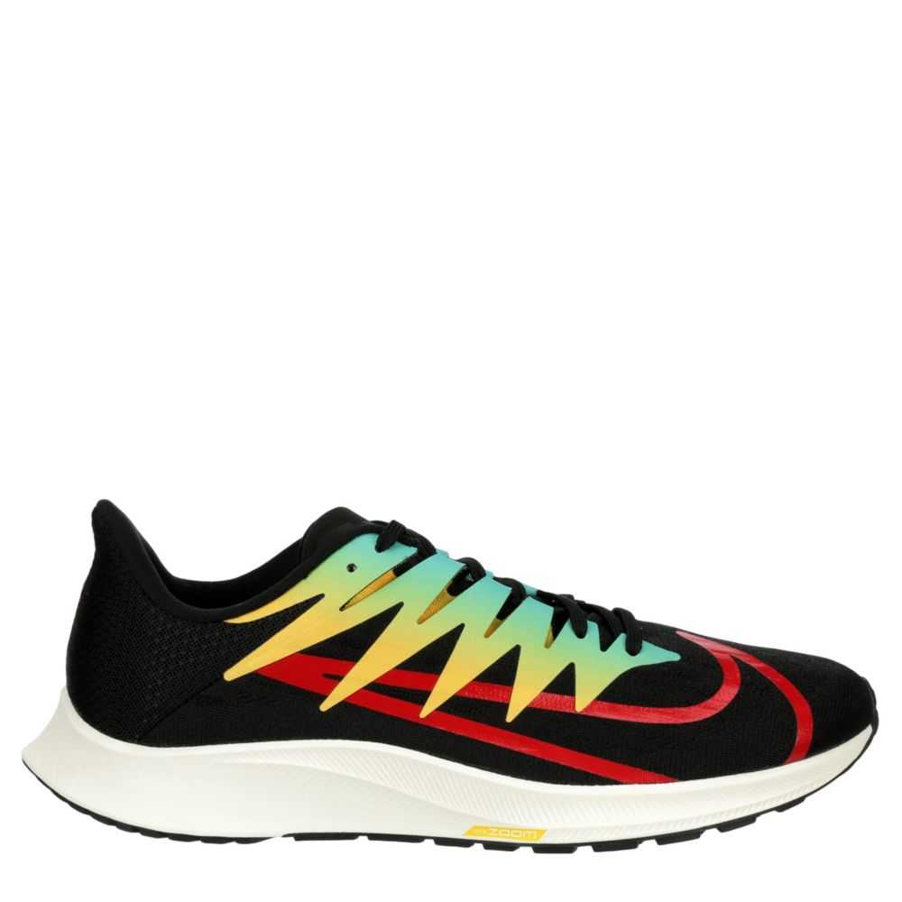 Nike Mens Zoom Fly Running Shoes Sneakers Black USA - GOOFASH - Mens SNEAKER