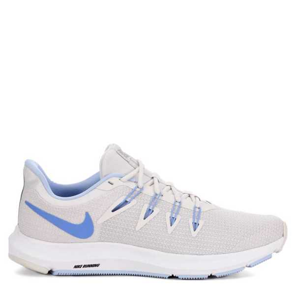 Nike Womens Running Quest Running Shoes Sneakers Pale Grey USA - GOOFASH - Womens SNEAKER
