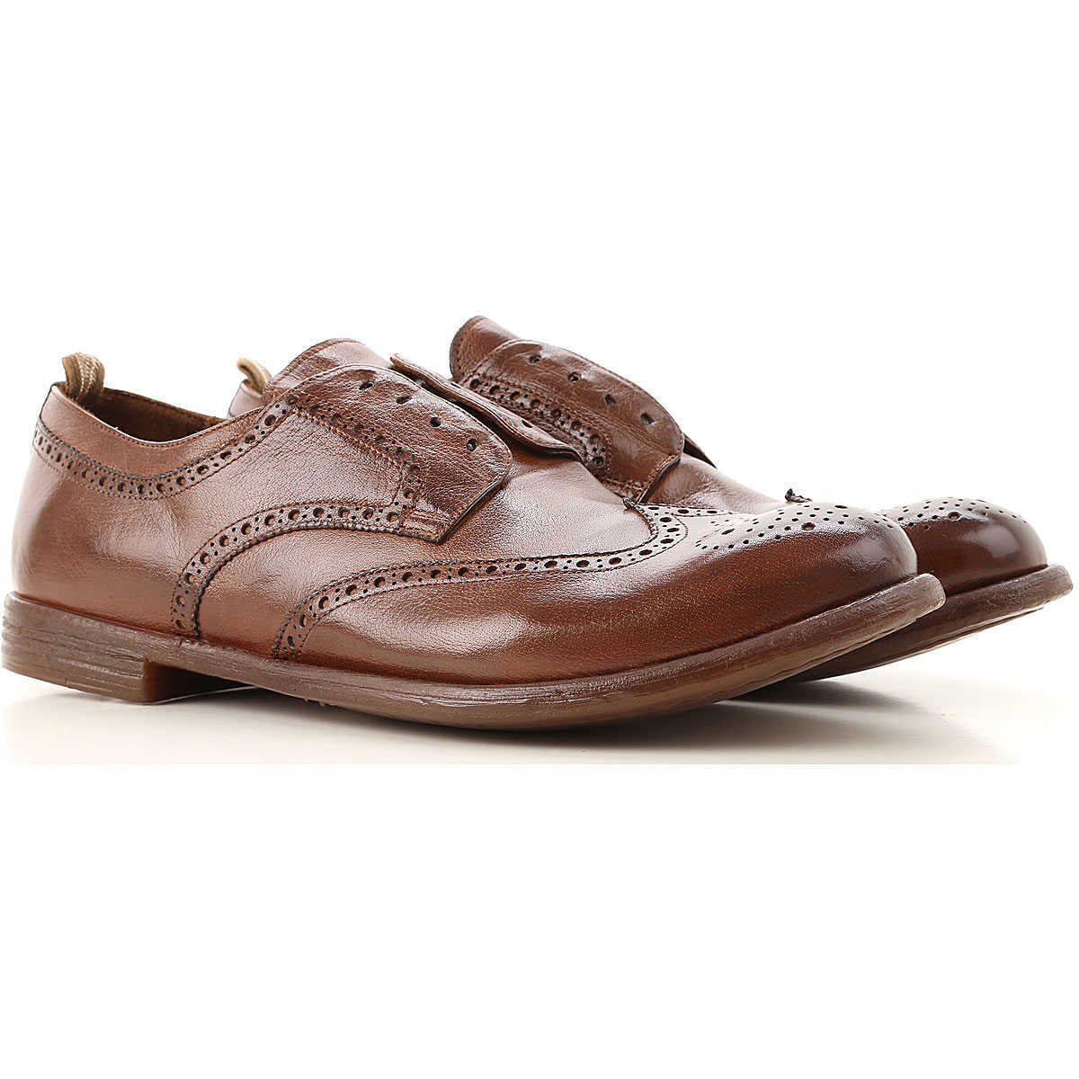 Officine Creative Lace Up Shoes for Men Oxfords 6.5 6.75 7 7.5 8 9 9.25 Derbies and Brogues On Sale UK - GOOFASH