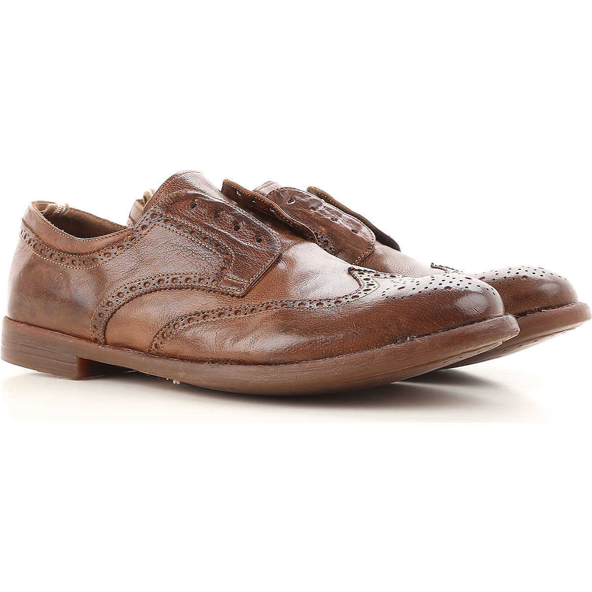 Officine Creative Lace Up Shoes for Men Oxfords Derbies and Brogues On Sale - GOOFASH