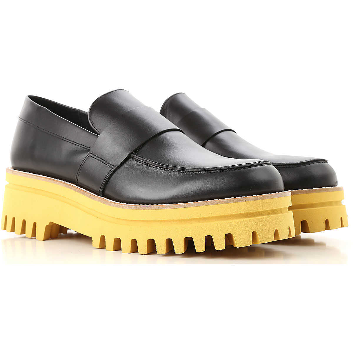 Paloma Barcelo Loafers for Women On Sale Black - GOOFASH