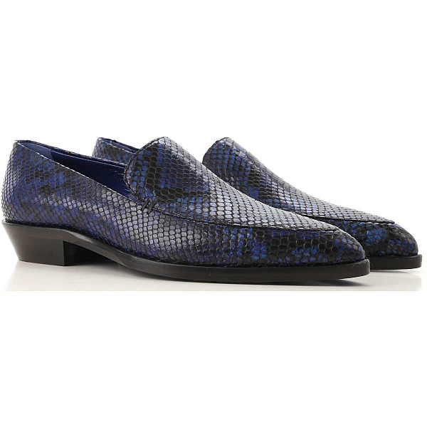 Paul Smith Loafers for Women On Sale Blue - GOOFASH