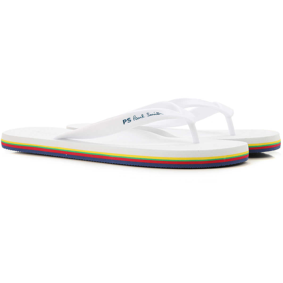 Paul Smith Sandals for Men On Sale Optical White - GOOFASH