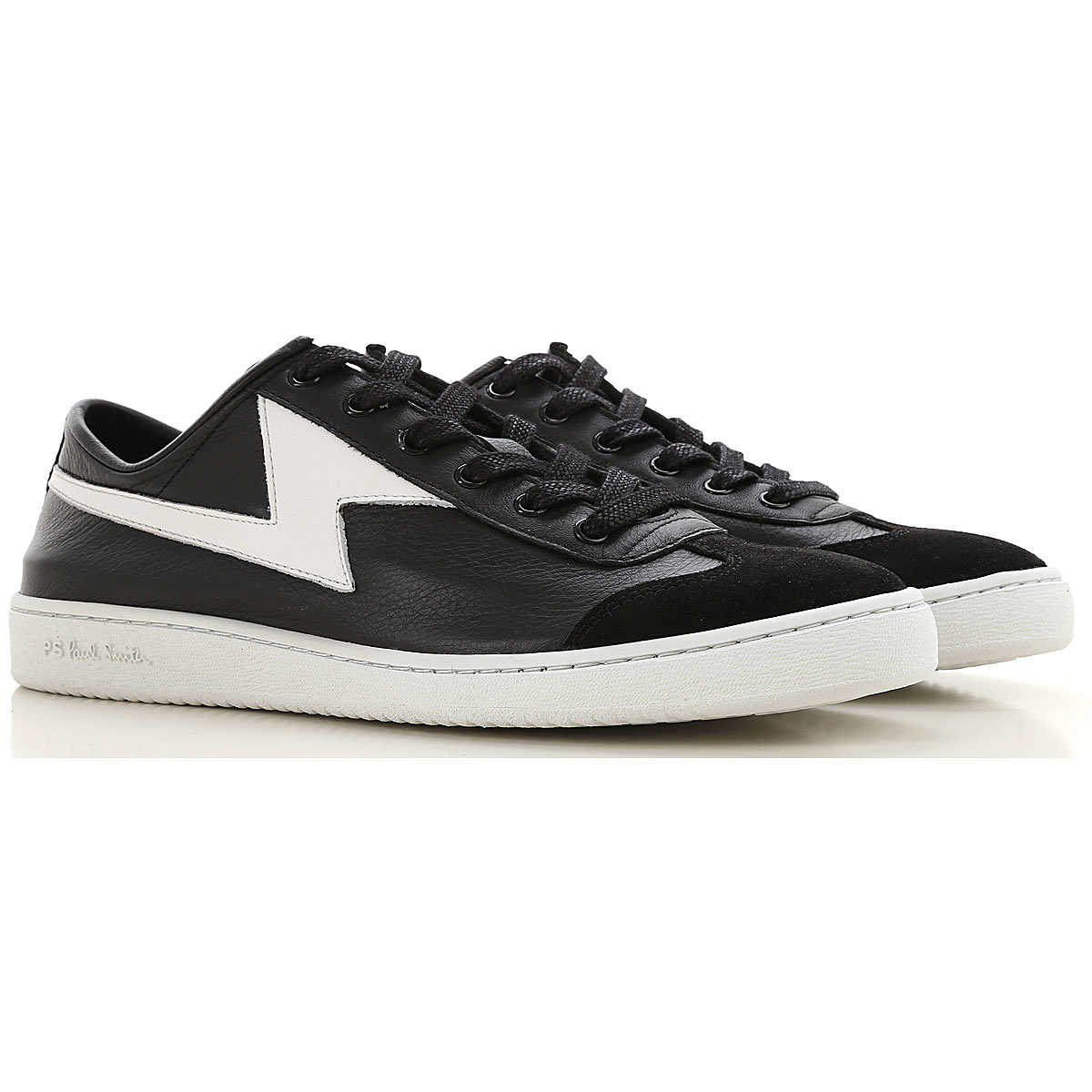 Paul Smith Sneakers for Men On Sale Black - GOOFASH