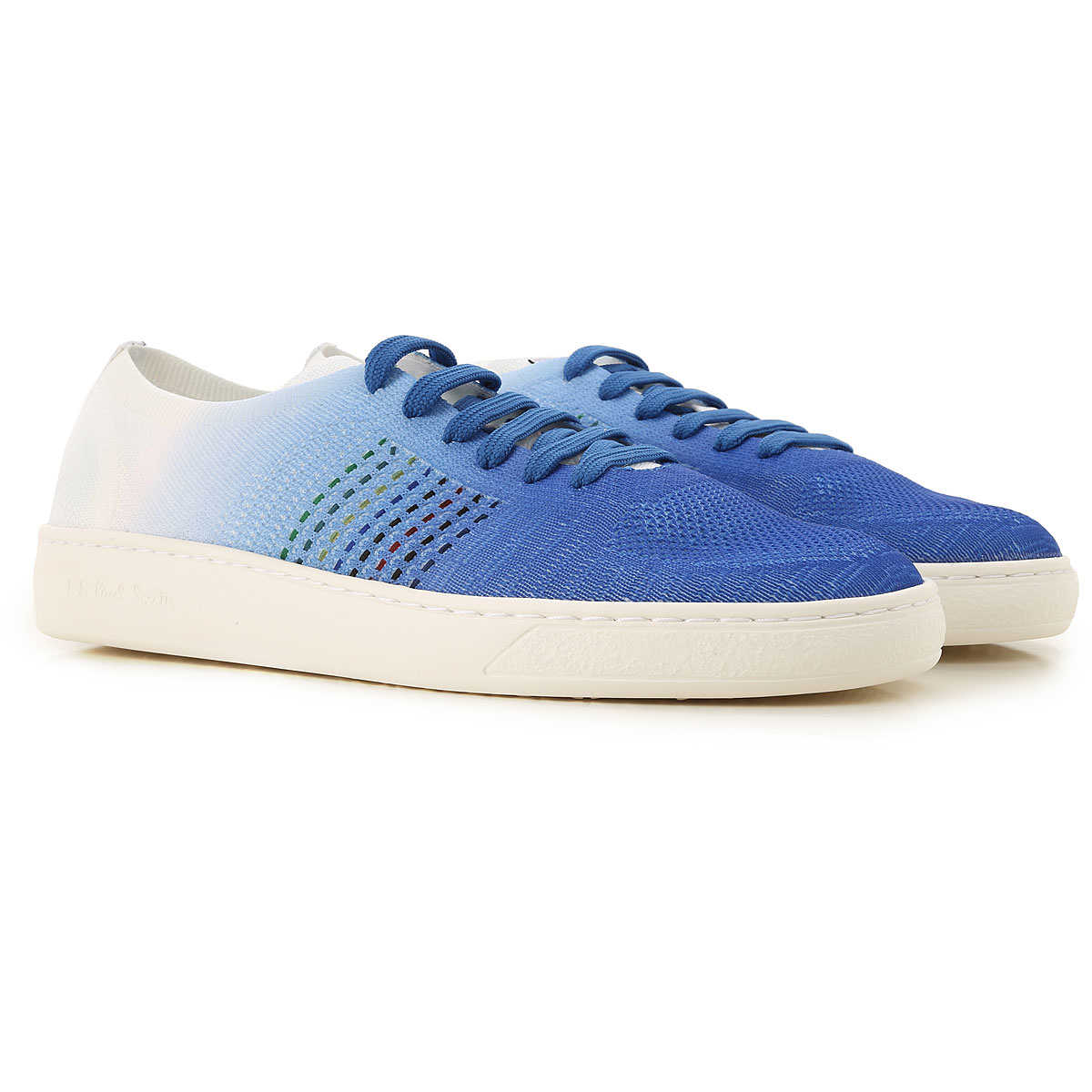 Paul Smith Sneakers for Men On Sale Blue - GOOFASH