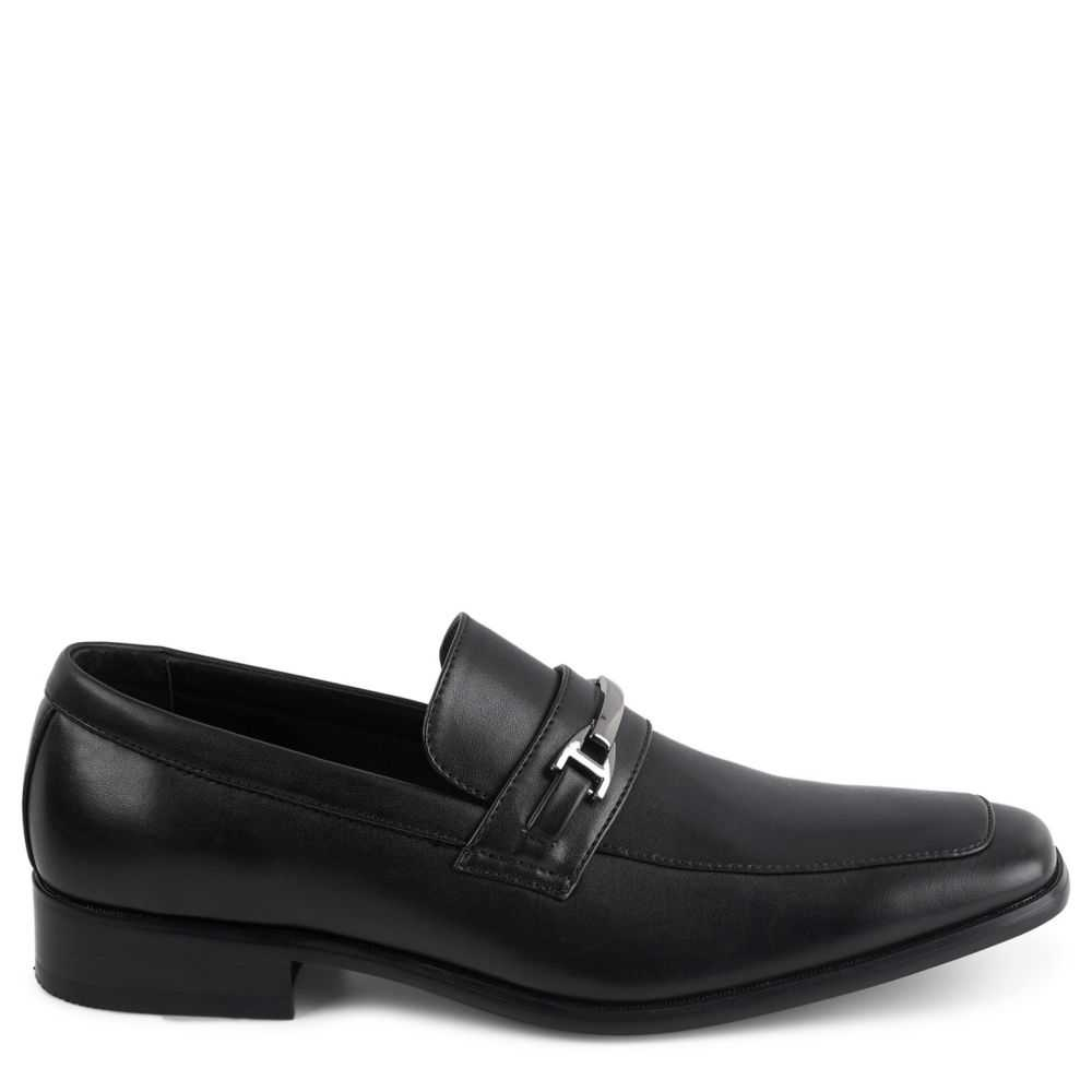 Perry Ellis Mens Stewart Loafers Black USA - GOOFASH - Mens LOAFERS