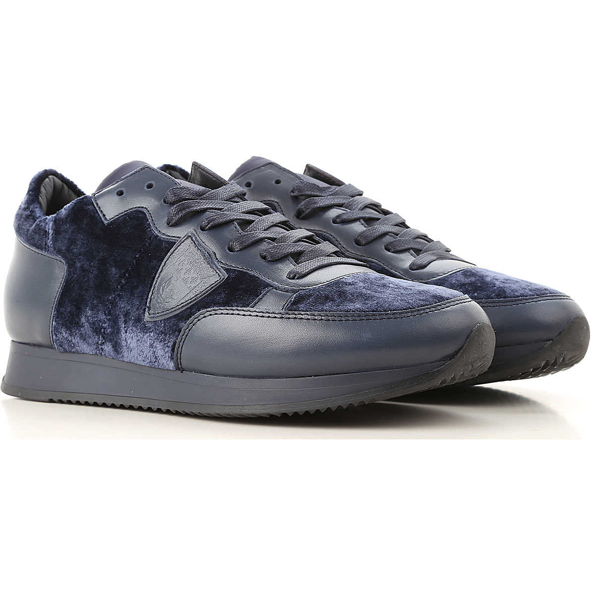 Philippe Model Sneakers for Women On Sale Night Blue - GOOFASH