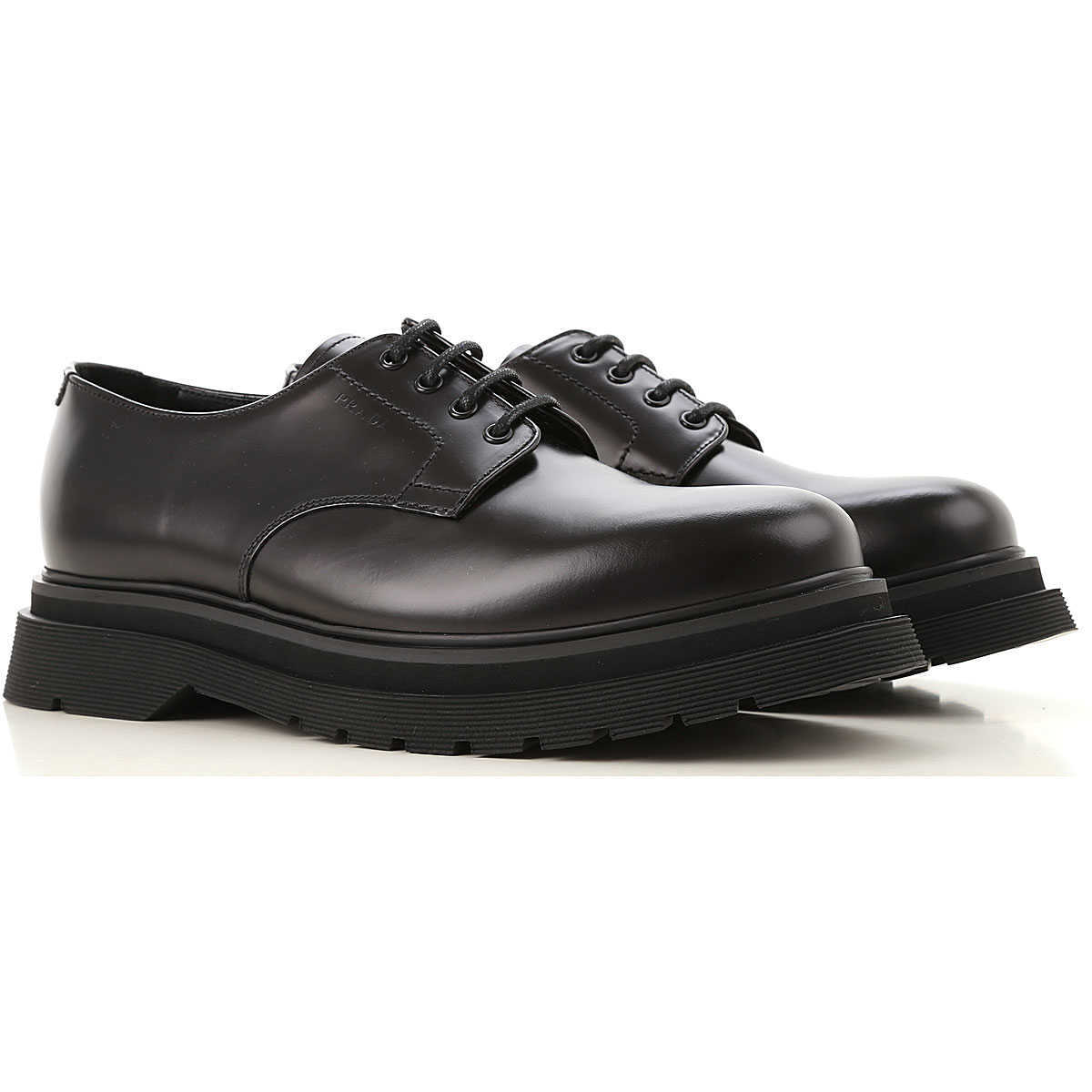 Prada Lace Up Shoes for Men Oxfords 10 6 7 7.5 8 8.5 9 Derbies and Brogues UK - GOOFASH