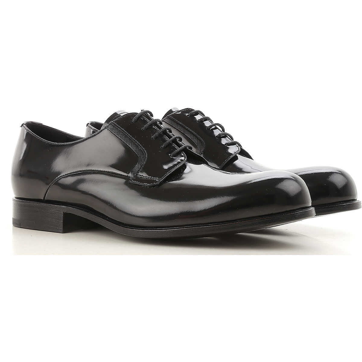 Prada Lace Up Shoes for Men Oxfords 6 9 Derbies and Brogues On Sale in Outlet UK - GOOFASH
