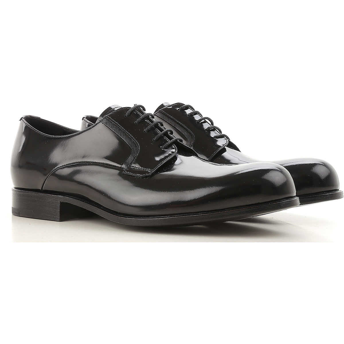 Prada Lace Up Shoes for Men Oxfords Derbies and Brogues On Sale in Outlet - GOOFASH