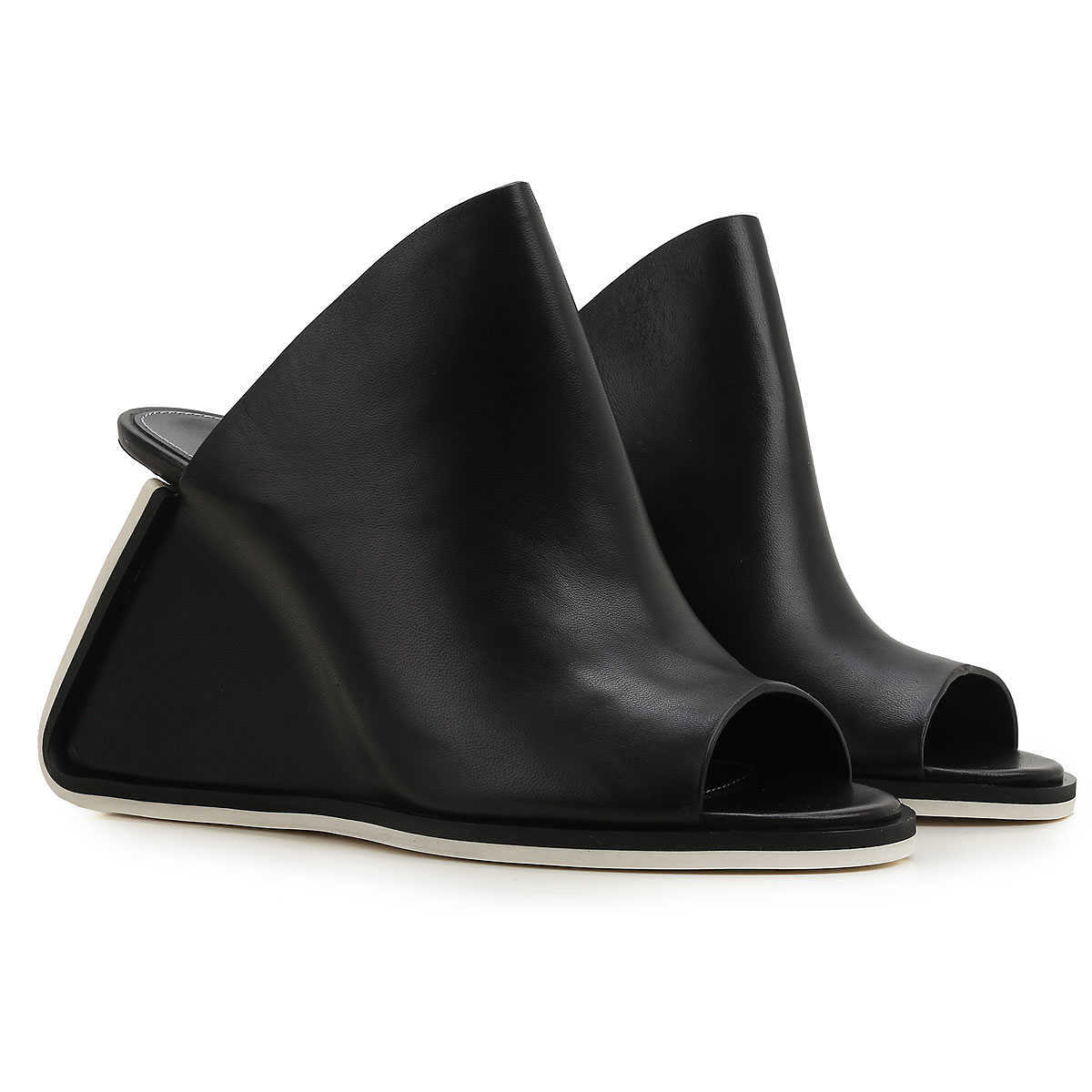 Premiata Wedges for Women On Sale in Outlet Black - GOOFASH