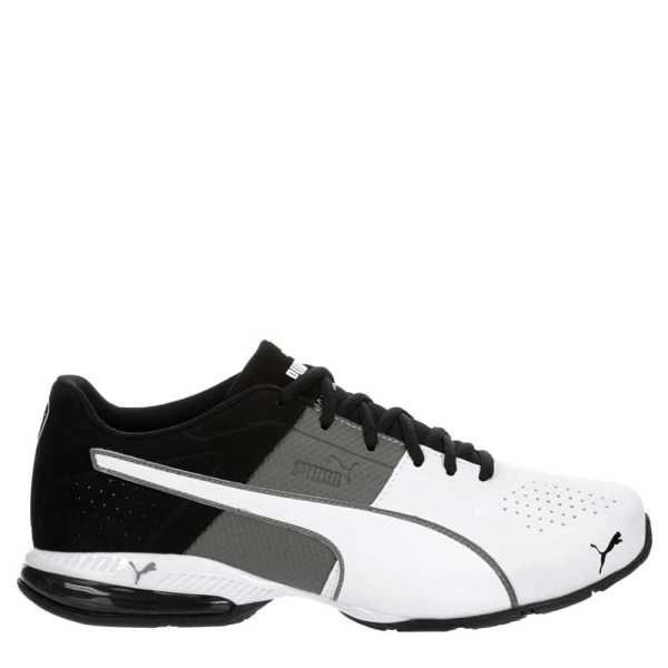 Puma Mens Cell Surin Running Shoes Sneakers White USA - GOOFASH - Mens SNEAKER