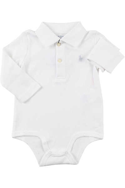 Ralph Lauren Baby Bodysuits & Onesies for Boys in Outlet White USA - GOOFASH