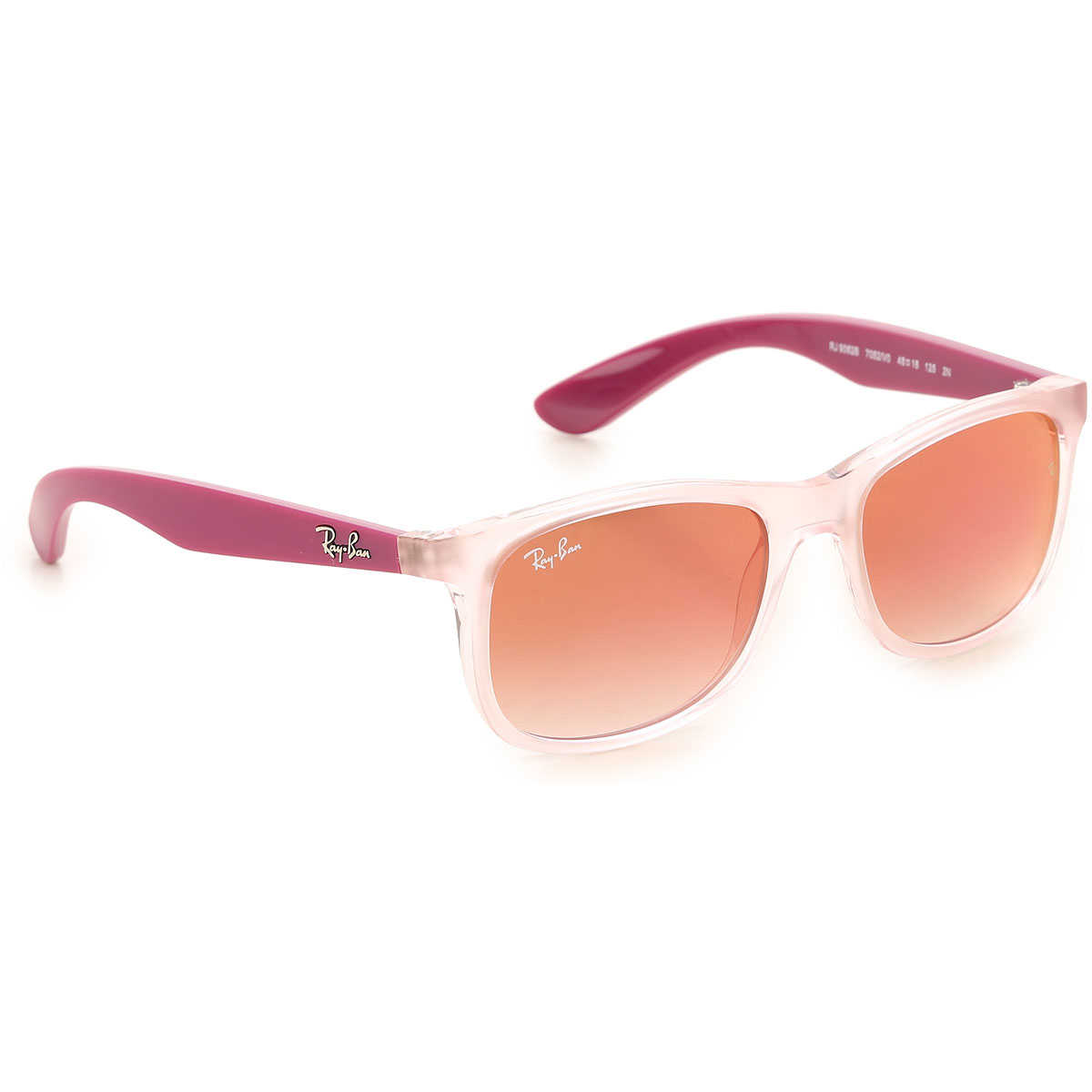 Ray Ban Junior Kids Sunglasses for Girls Violet USA - GOOFASH