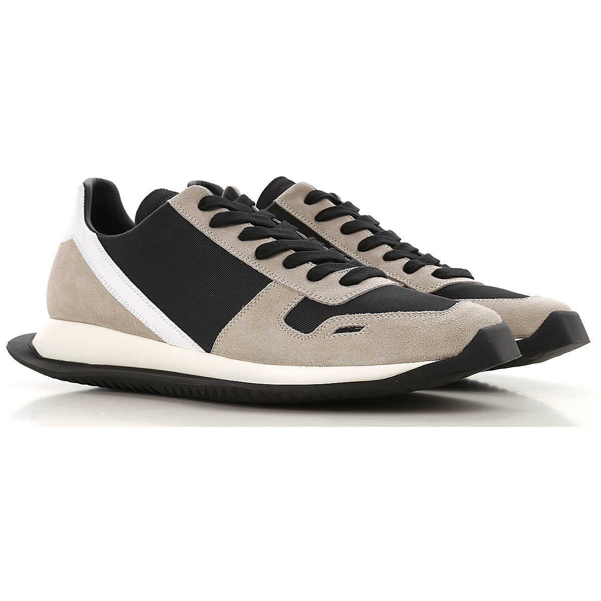 Rick Owens Sneakers for Men On Sale in Outlet Black UK - GOOFASH