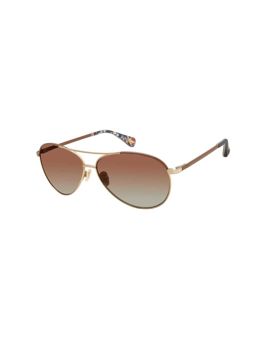 Robert Graham Men's Asher Aviator Sunglasses in Brown USA - GOOFASH