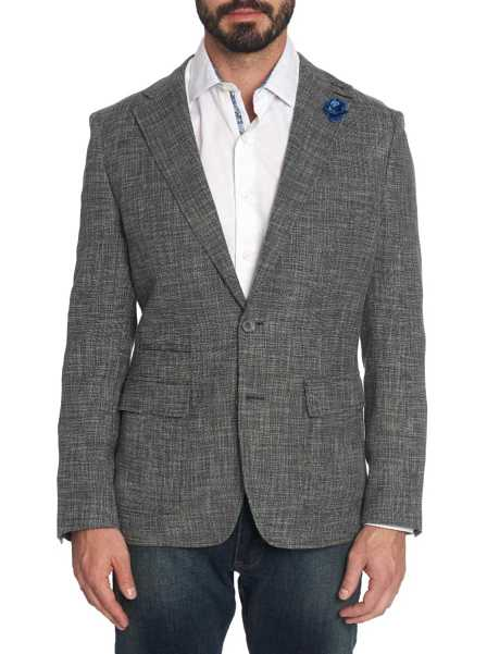 Robert Graham Men's Benton Sport Coat In Black USA - GOOFASH