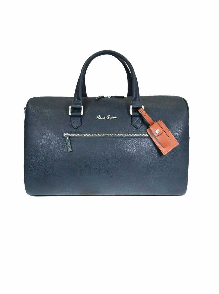 Robert Graham Men's Blanchard Duffel Bag in Navy USA - GOOFASH