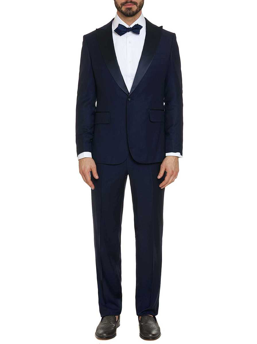 Robert Graham Men's Charly Tuxedo In Navy USA - GOOFASH