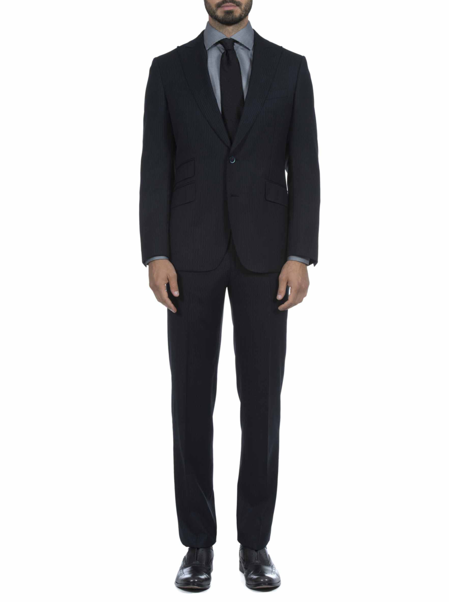 Robert Graham Men's Heams Suit In Charcoal USA - GOOFASH