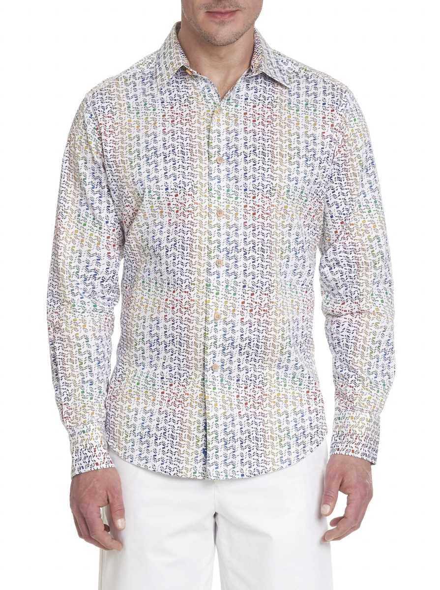 Robert Graham Men's Janning Sport Shirt USA - GOOFASH