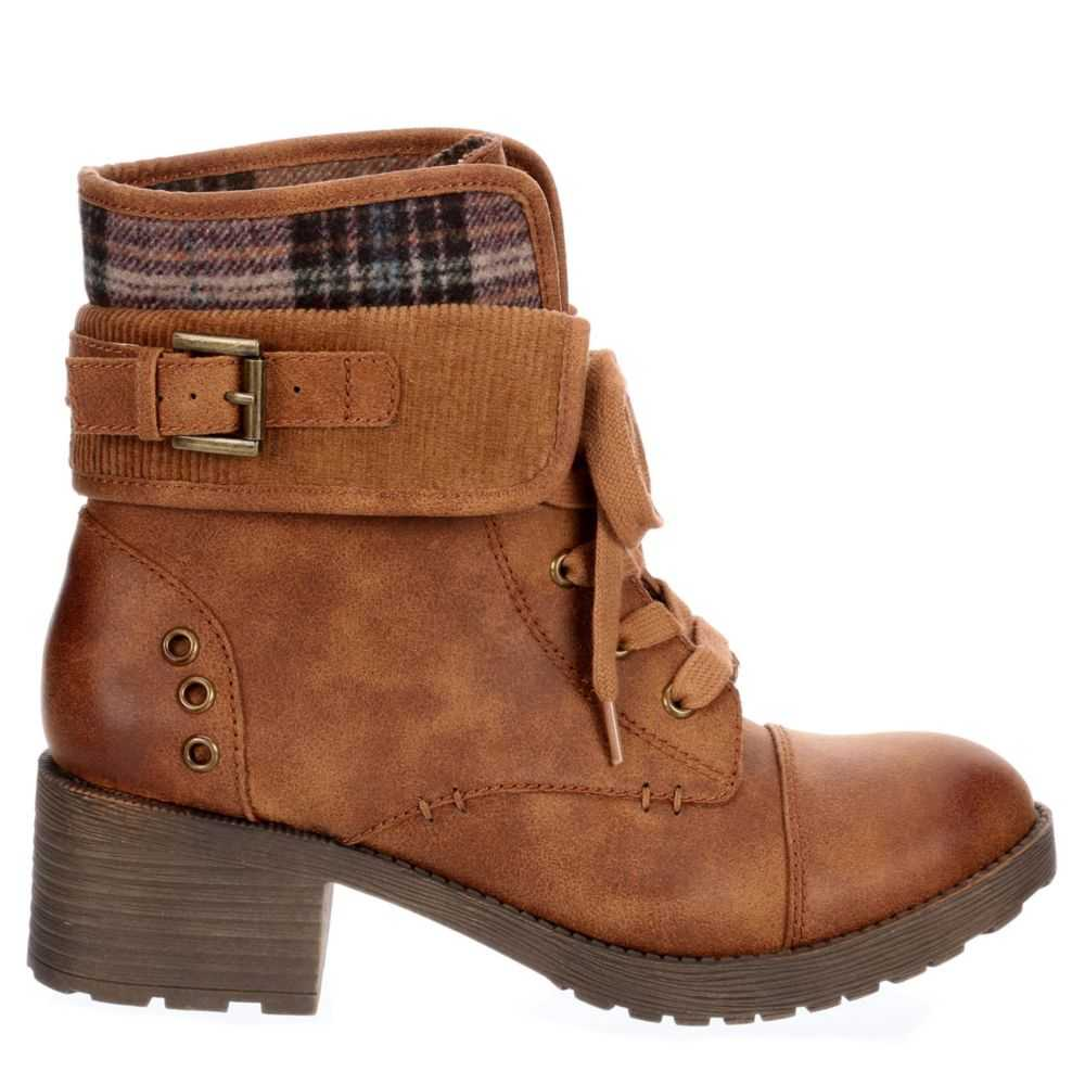 Rock & Candy Womens Sonni Boots Cognac USA - GOOFASH - Womens BOOTS