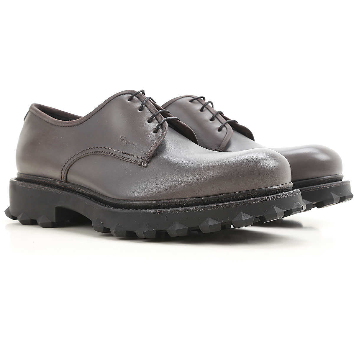 Salvatore Ferragamo Lace Up Shoes for Men Oxfords 6 6.5 9 Derbies and Brogues On Sale in Outlet UK - GOOFASH