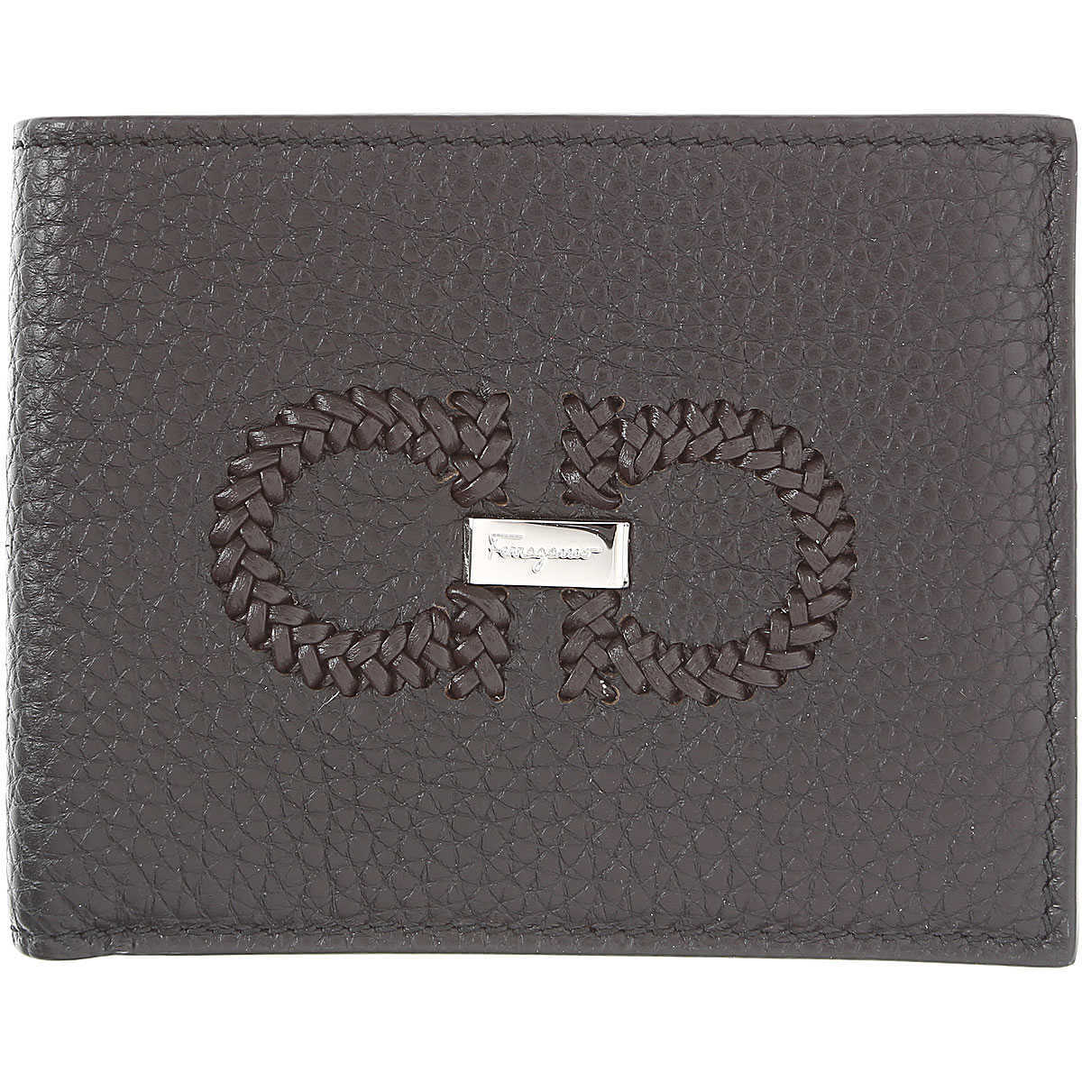 Salvatore Ferragamo Wallet for Men On Sale Black - GOOFASH