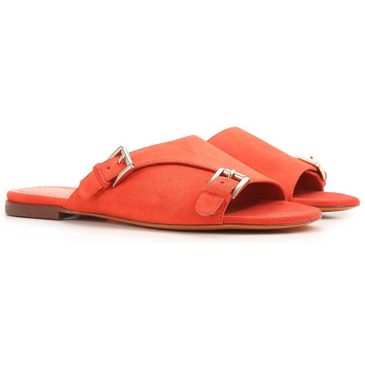 Santoni Sandals for Women On Sale in Outlet Rose Collection - GOOFASH