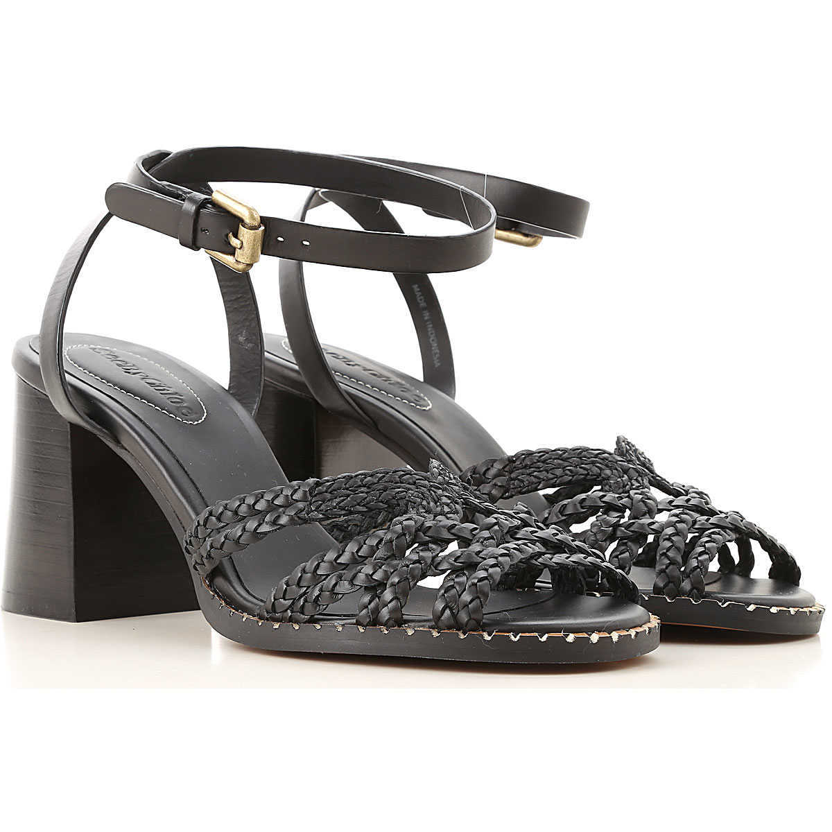 See By Chloe Sandals for Women On Sale Black - GOOFASH