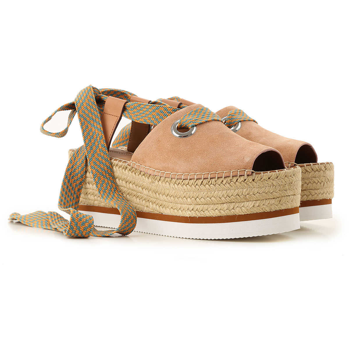 See By Chloe Wedges for Women On Sale Powder - GOOFASH