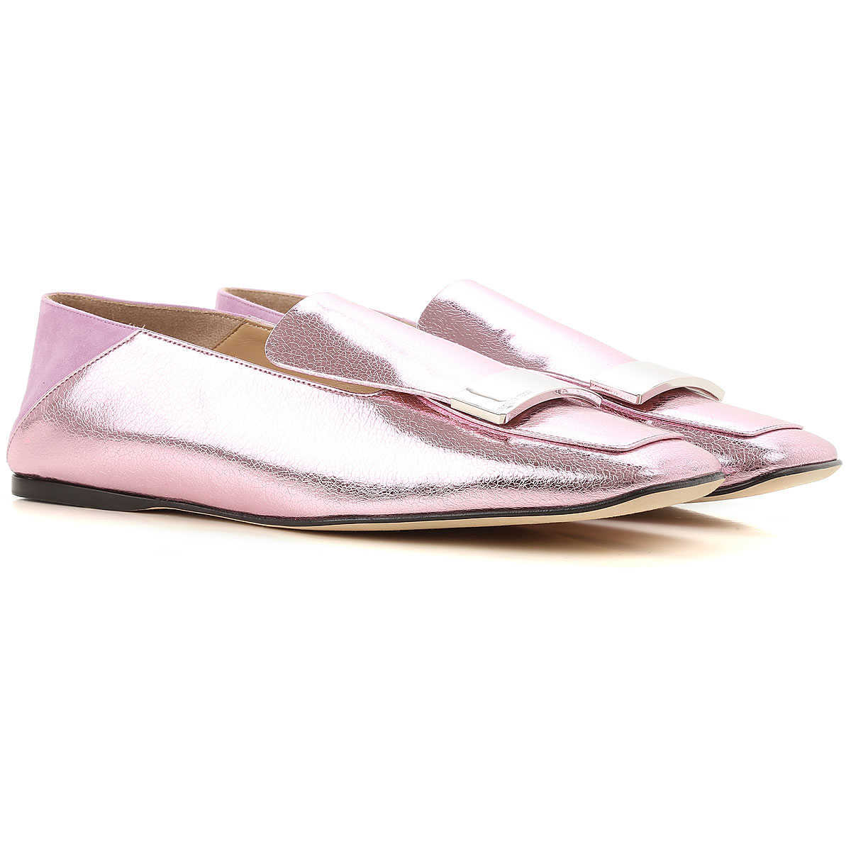Sergio Rossi Loafers for Women On Sale in Outlet Peony - GOOFASH