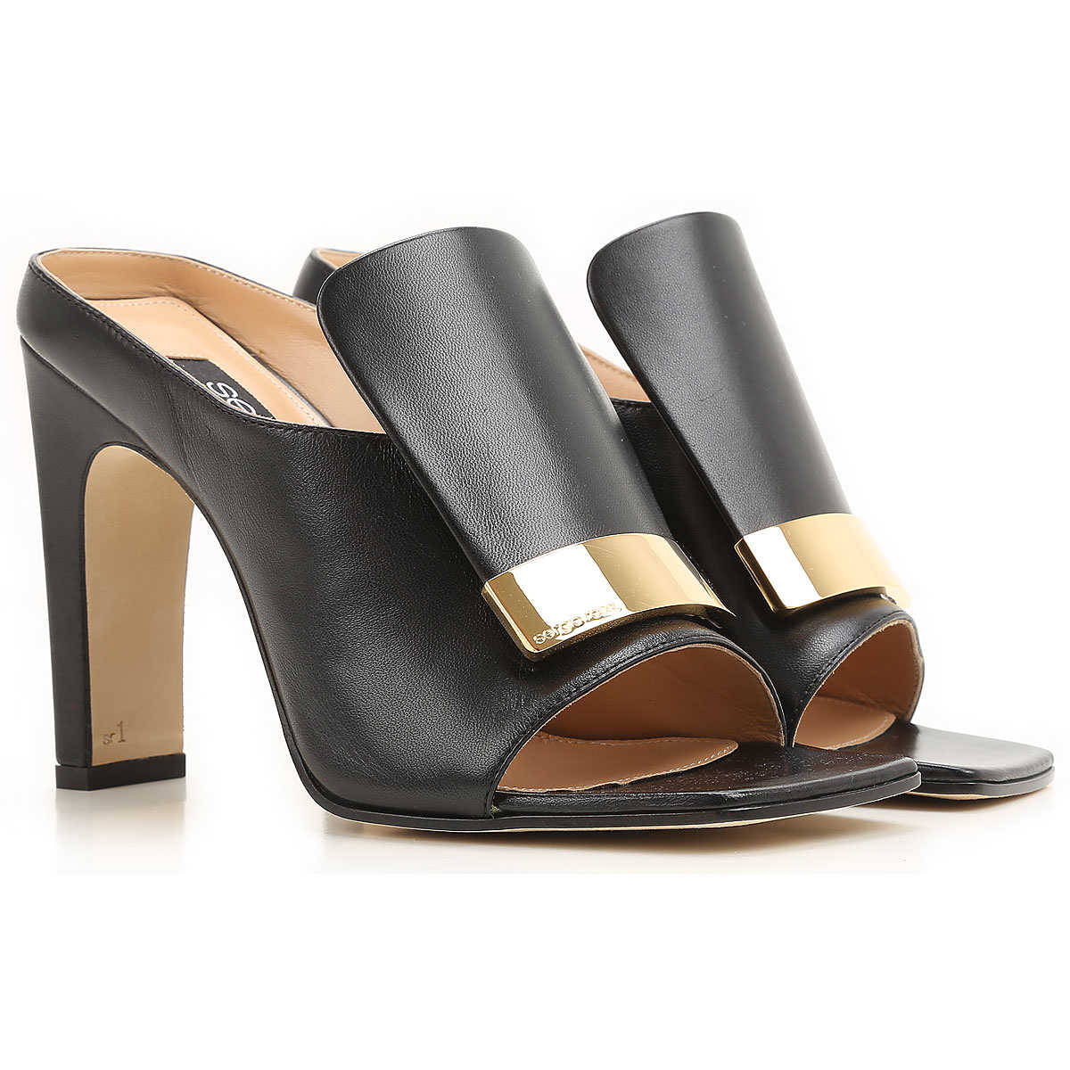 Sergio Rossi Sandals for Women On Sale in Outlet Black UK - GOOFASH