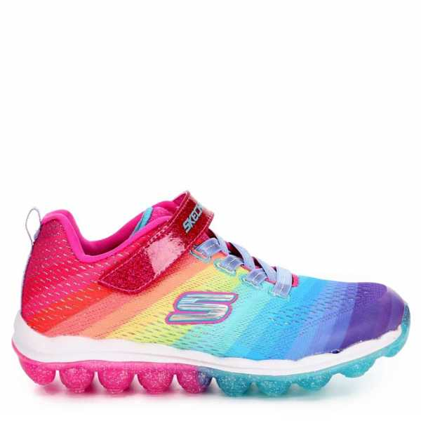 Skechers Kids Girls Rainbow Wishes Shoes Sneakers Multicolor USA - GOOFASH - Womens SNEAKER