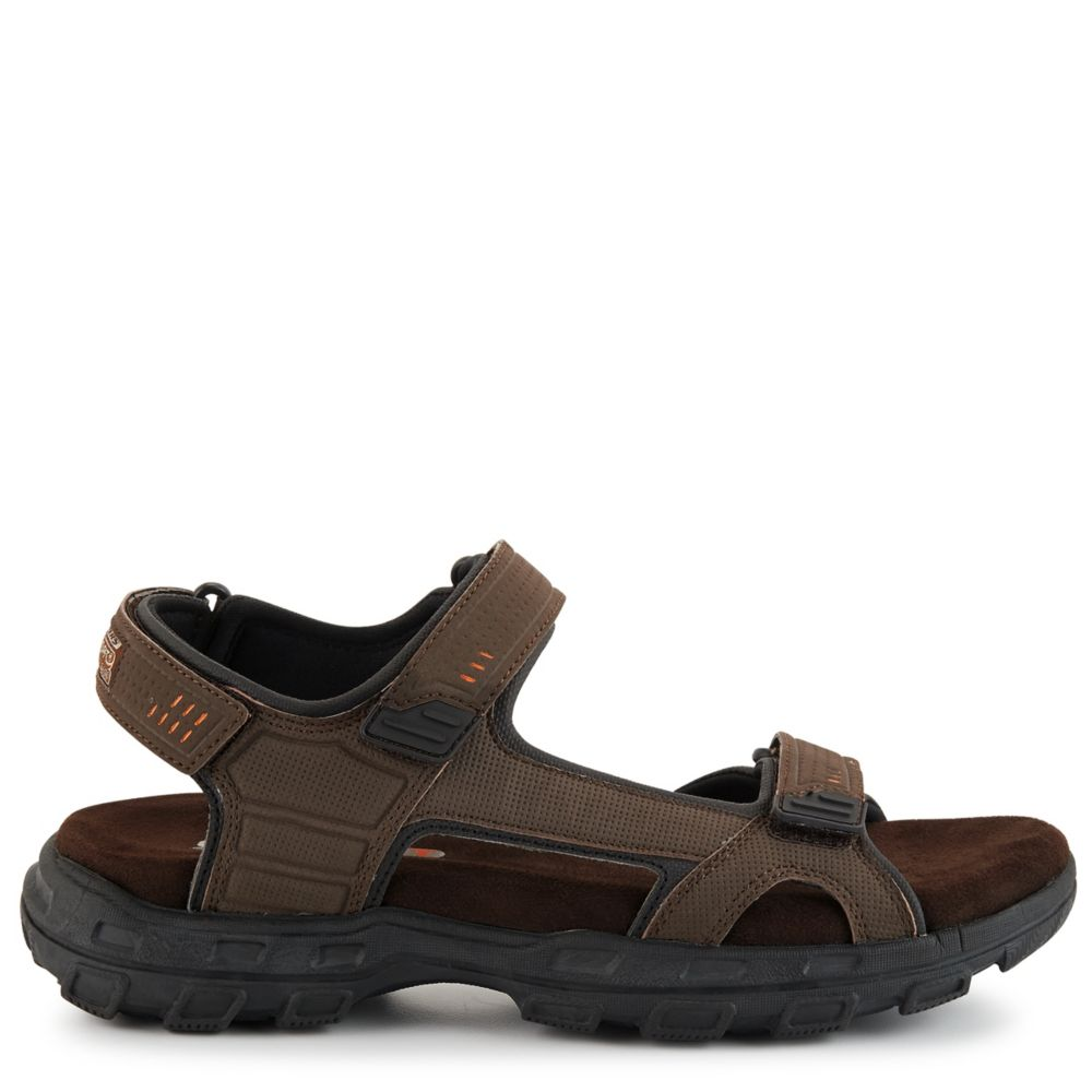 Skechers Mens Connor-Louden Relaxed Fit Sport Sandal Brown USA - GOOFASH - Mens SANDALS