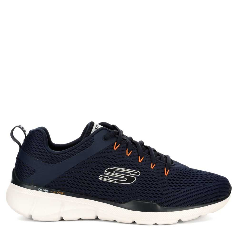 Skechers Mens Equalizer 3.0 Shoes Sneakers Navy USA - GOOFASH - Mens SNEAKER