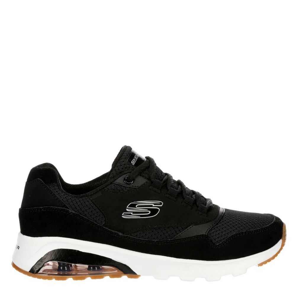 Skechers Womens Skech-Air Extreme Shoes Sneakers Black USA - GOOFASH - Womens SNEAKER