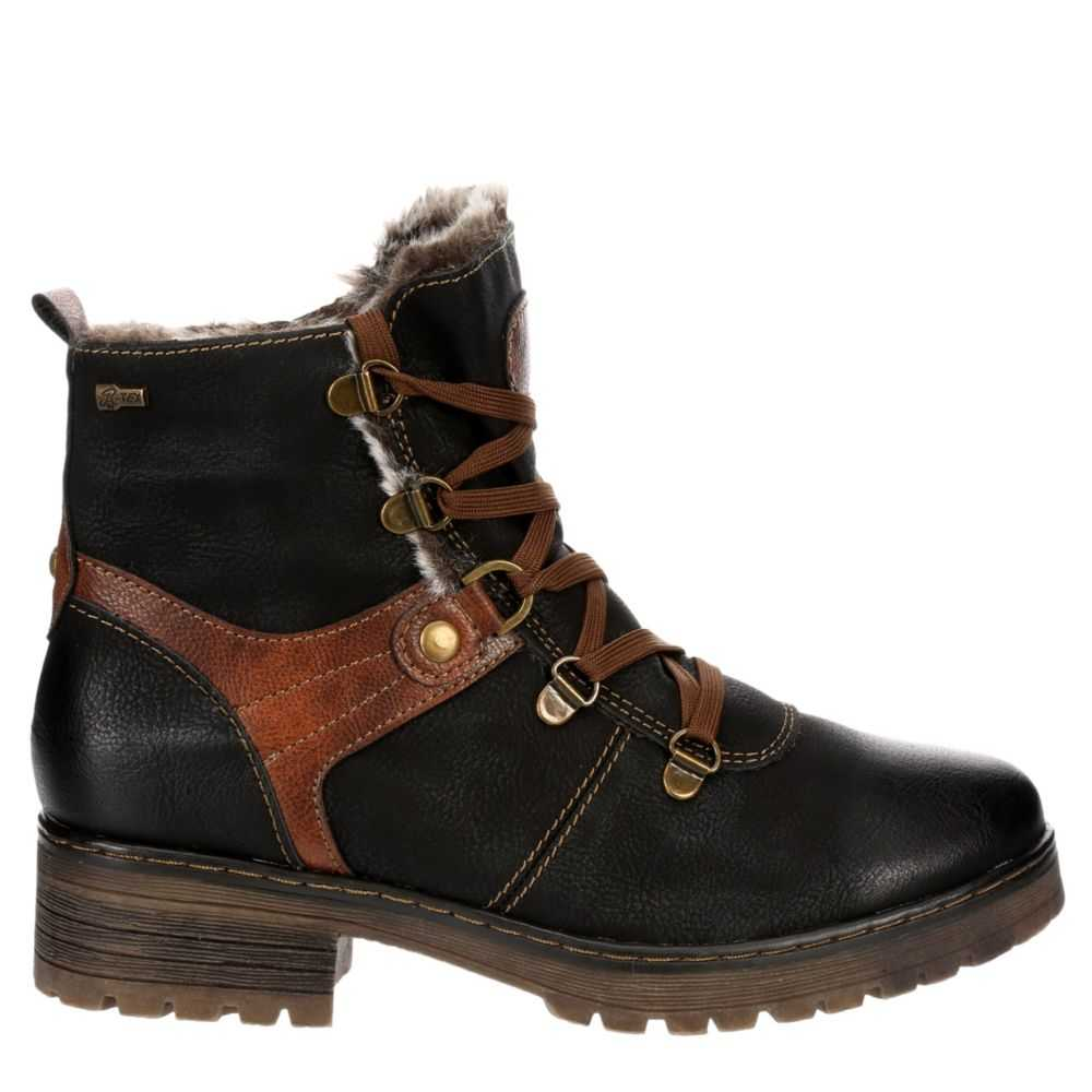 Spring Step Womens Micah Boots Black USA - GOOFASH - Womens BOOTS