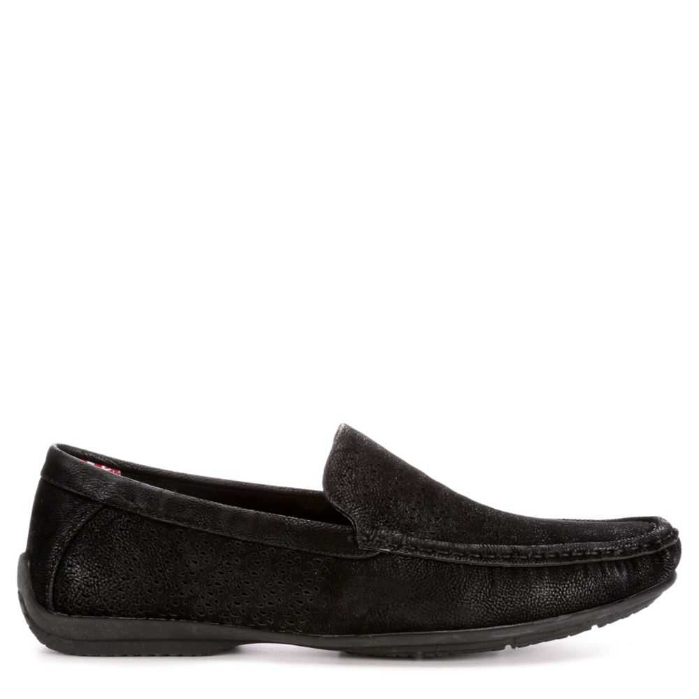 Stacy Adams Mens Cicero Loafers Black USA - GOOFASH - Mens LOAFERS